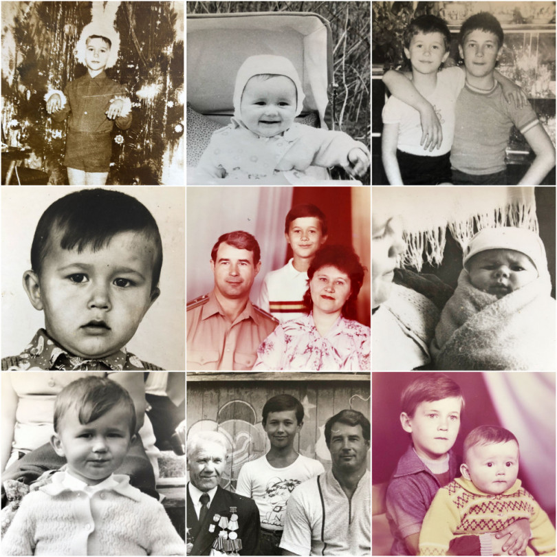 "Sergey Babkin as a child ""width ="" 810 ""height ="" 810"