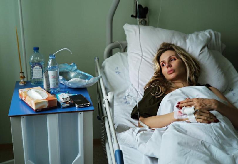 "Loboda at the hospital ""width ="" 810 ""height ="" 558"