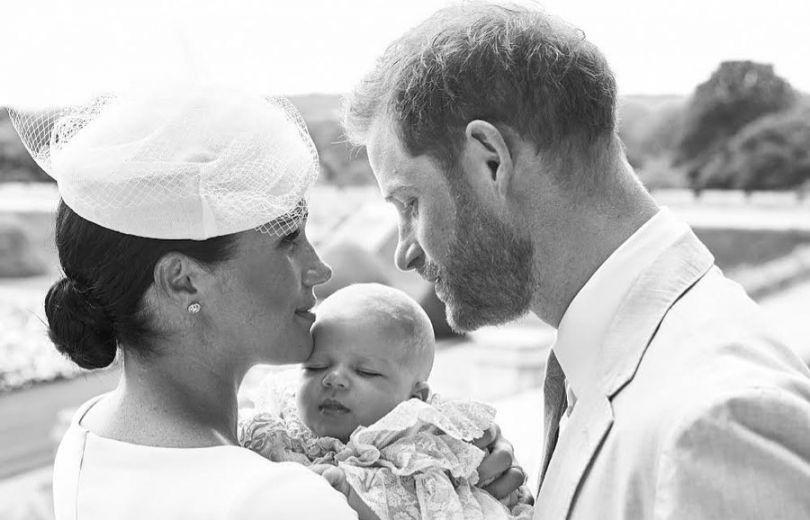 Меган Маркл и принц Гарри крестили сына Арчи