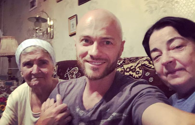 Влад Яма с родными