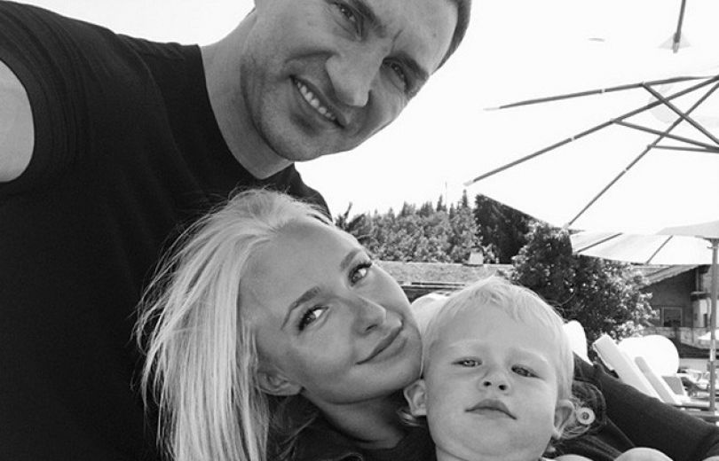 Дочь Панеттьери иКличко живет сотцом вгосударстве Украина