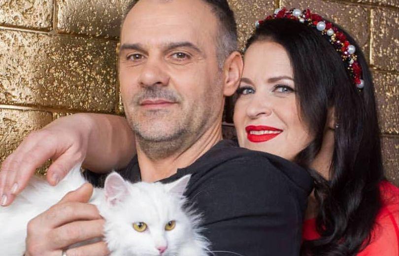 Руслана Писанка с мужем