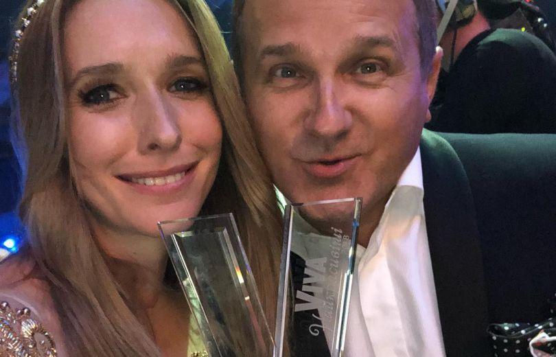 Катя Осадчая и Юрий Горбунов на церемонии Viva! Самые красивые