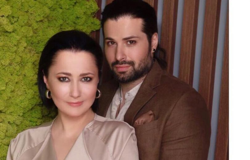 Алена Мозговая с мужем