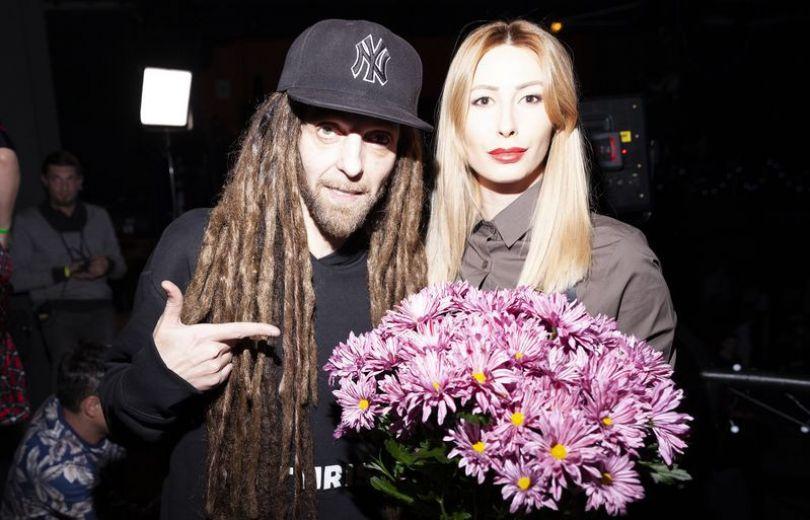 Дизель с женой Фарой