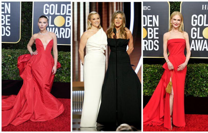 Платья на Золотом глобусе 2020
