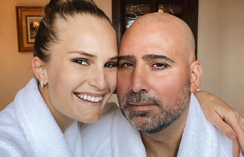 Алла Костромичева и ее муж Джейсон