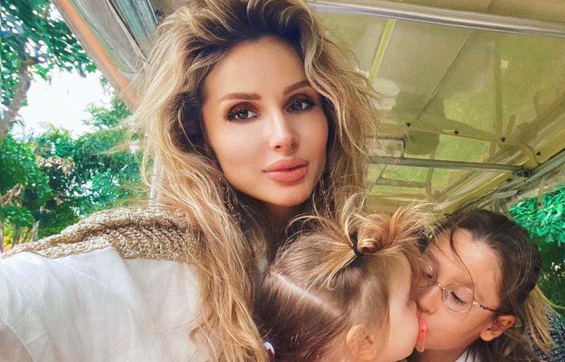 Светлана Лобода и ее дети - Тильда и Ева