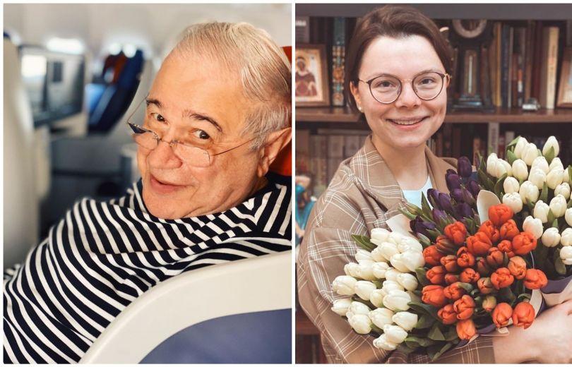 Татьяна Брухунова и Евгений Петросян