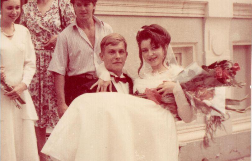 Степан Казанин и его жена