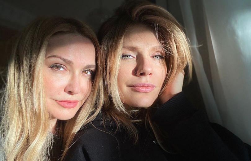 Ольга Сумская с дочкой