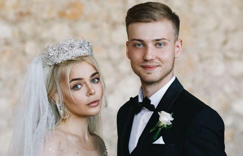 Алина Гросу и ее муж: свадьба
