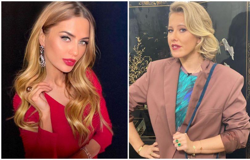 Виктория Боня и Ксения Собчак