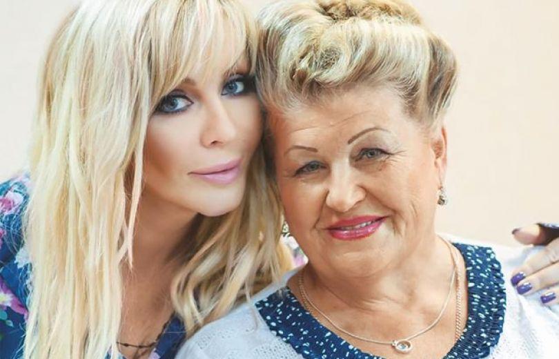 Ирина Билык с мамой