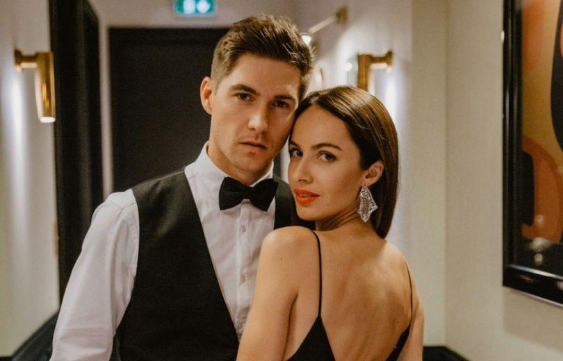 Владимир Остапчук и его новая девушка Кристина Горняк