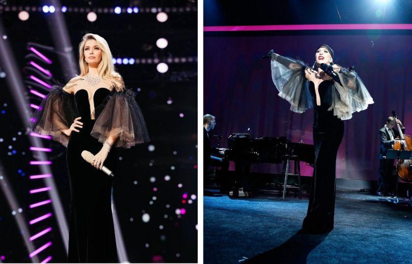 Битва нарядов: Вера Брежнева против Леди Гаги в Yanina Couture