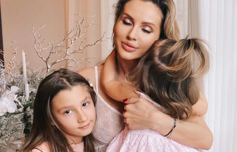 Светлана Лобода с дочками