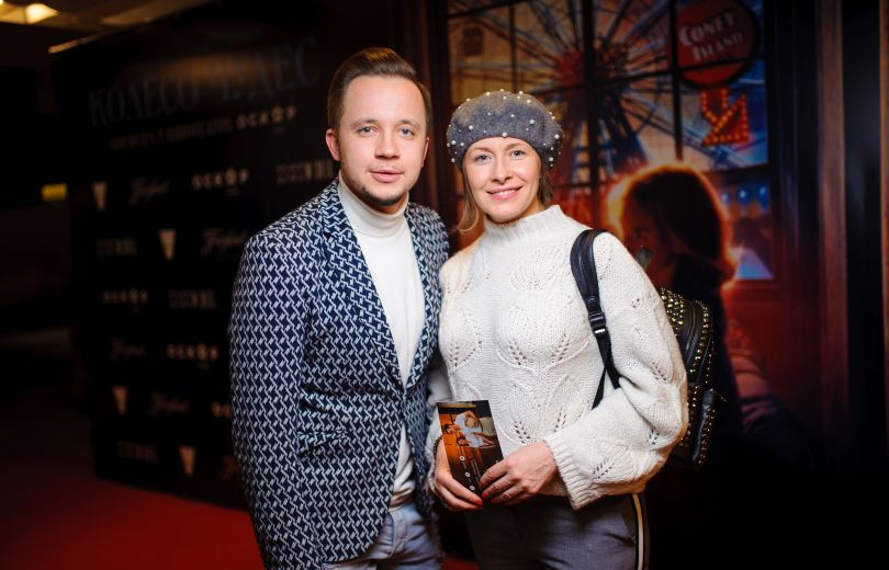 Елена Кравец на премьере фильма Вуди Аллена