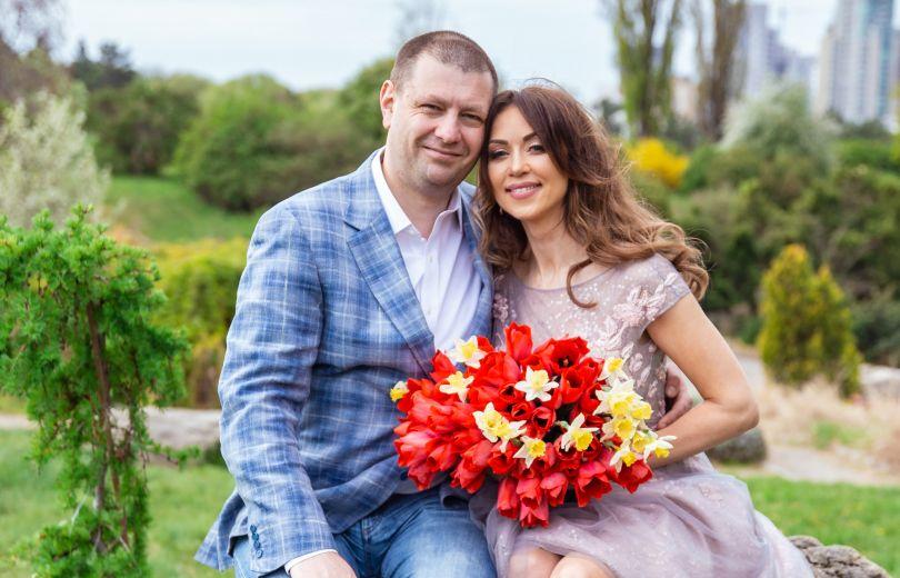 Наталья Валевская и ее муж продюсер Владимир Пригладь