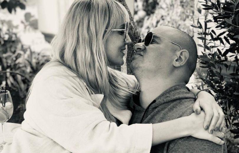 Евгений Кошевой и его жена