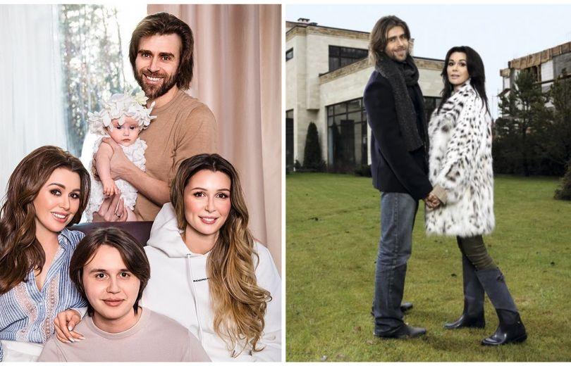 Анастасия Заворотнюк и ее семья