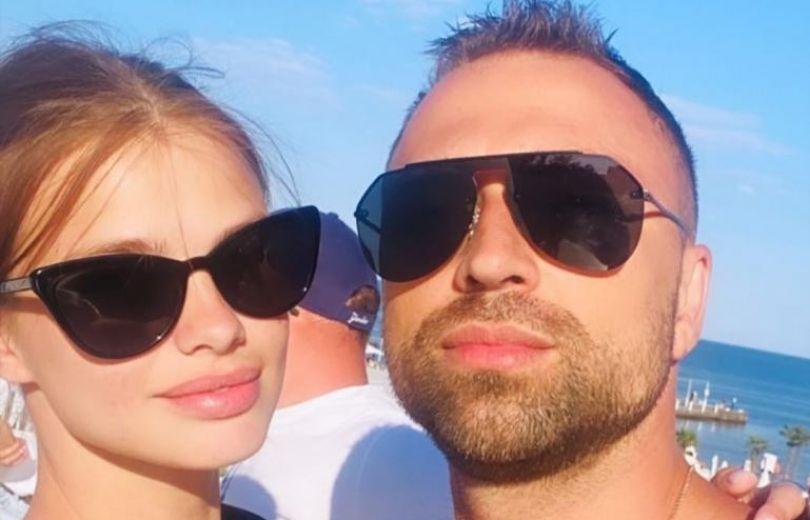 Макс Михайлюк встречается с моделью Дашей Хлистун