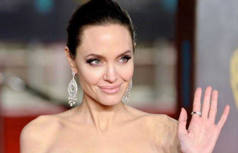 Анджелина Джоли на BAFTA-2018