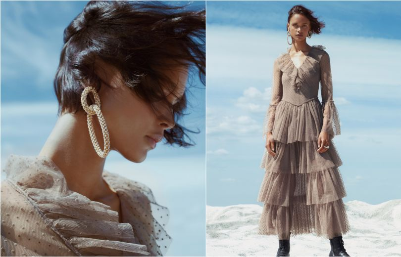 H&M и Sandra Mansour