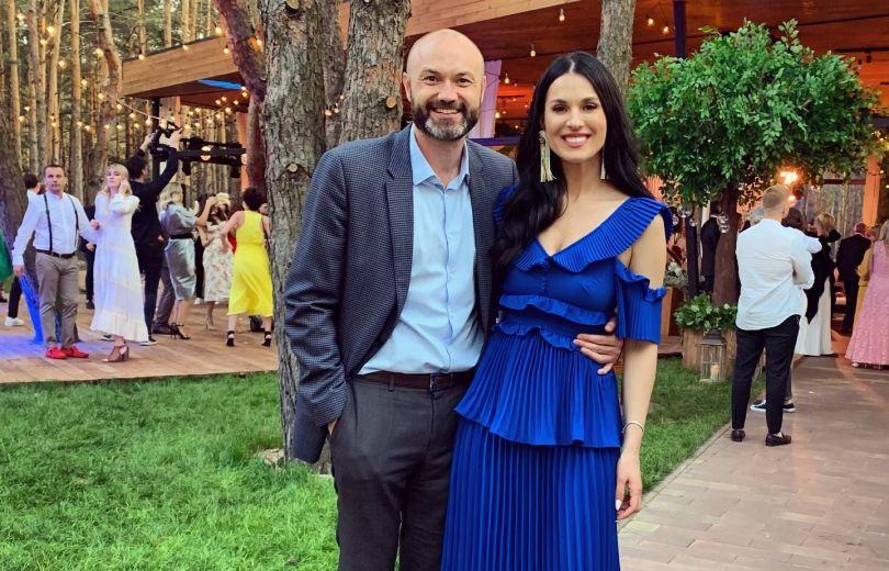 Маша Ефросинина с мужем