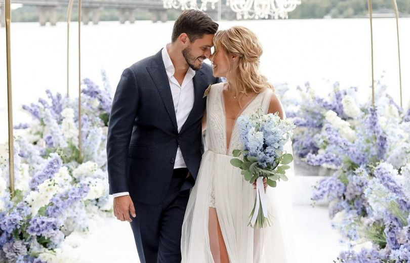 Никита Добрынин и Даша Квиткова: свадьба
