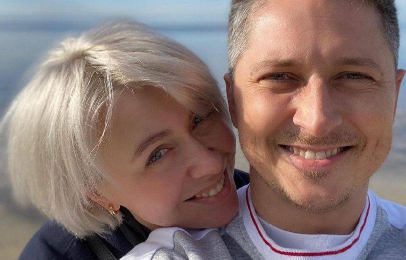 Александр Педан и его жена