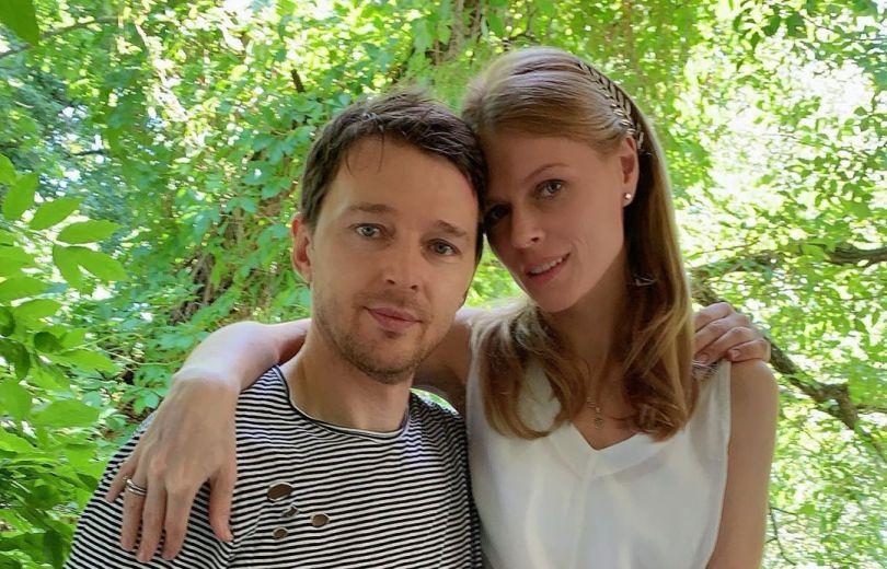 Ольга Фреймут и ее муж Владимир Локотко