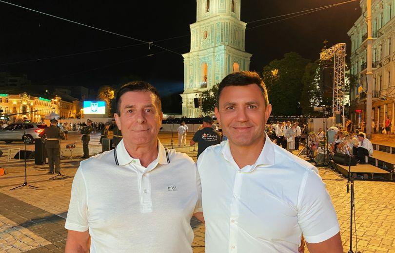 Николай Тищенко и его отец Николай Петрович