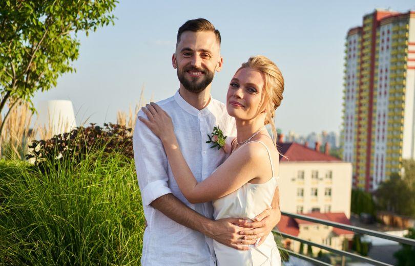 Алина Гордиенко и Роман Блажкевич