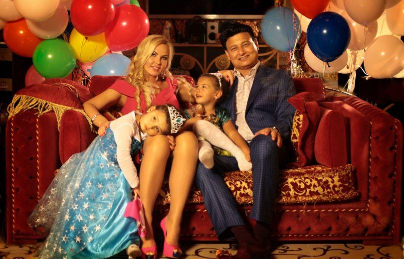 Камалия и ее семья