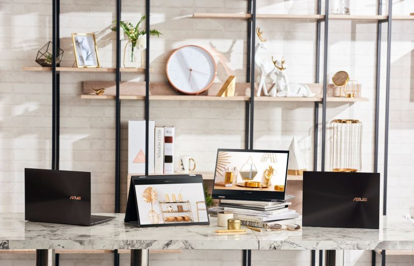 ноутбук с OLED-дисплеем