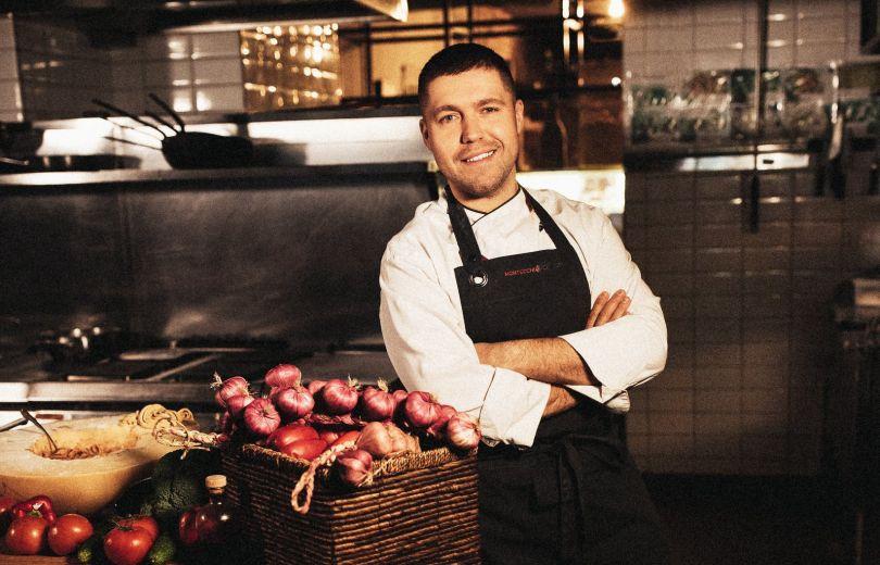 Сергей Псядло — шеф-повар киевского ресторана Montecchi Capuleti