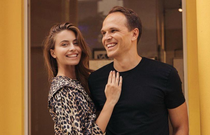 Соня Евдокименко и Денис Жаданов