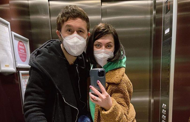 Сергей Бабкин и его жена Снежана