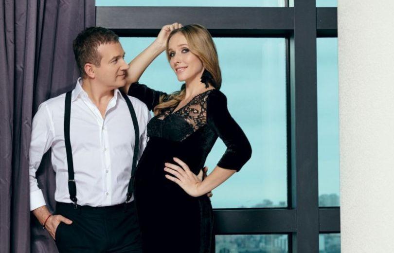 Катя Осадчая и Юрий Горбунов в журнале Viva!