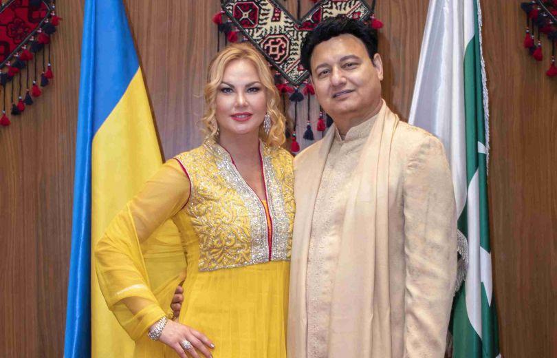 Камалия и ее муж Мохаммад Захур