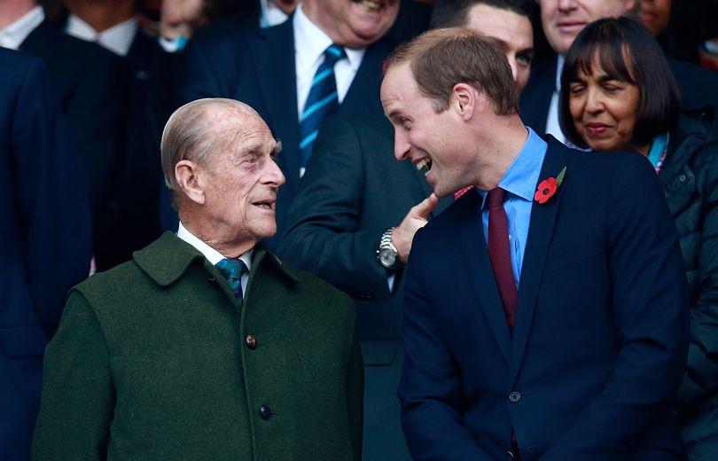 принц Уильям и принц Филипп