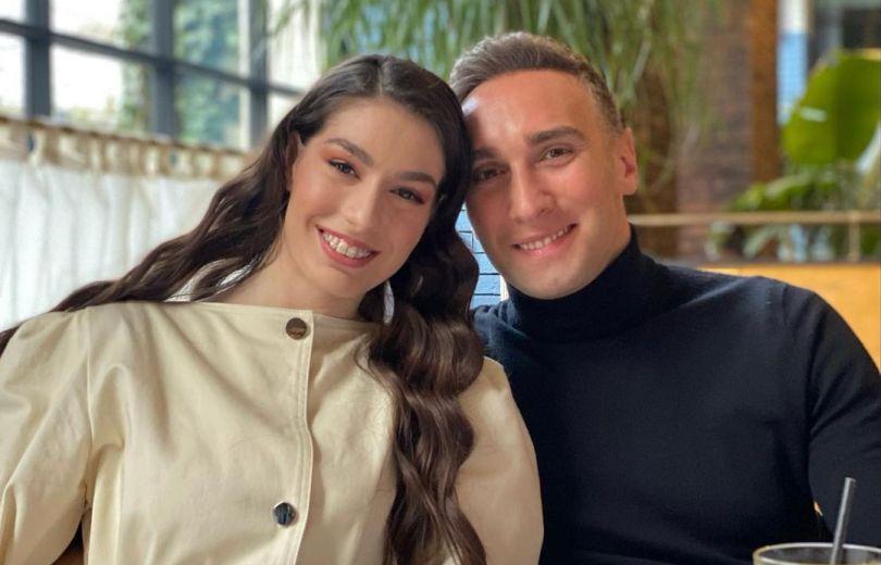 Иракли Макацария и его девушка