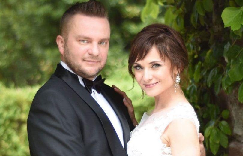 Анна Панова та її чоловік