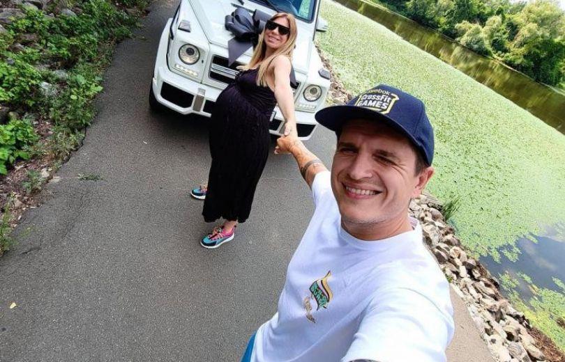 Анатолий Анатолич и его беременная жена Юла