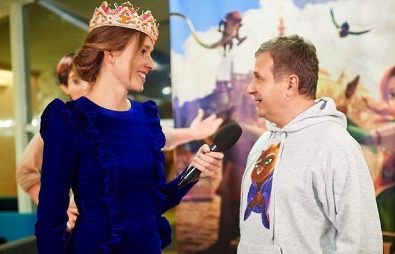 Впервые за три года Катя Осадчая взяла интервью у своего мужа Юрия Горбунова