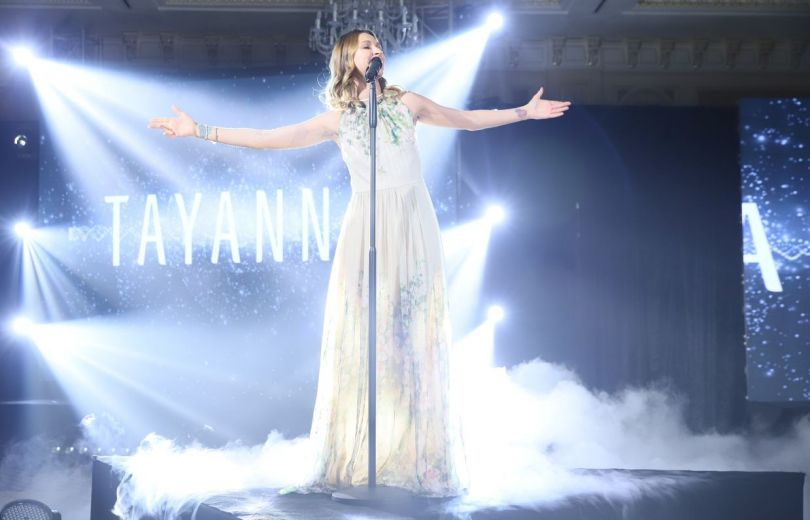 Tayanna на церемонии Жінка України 2018