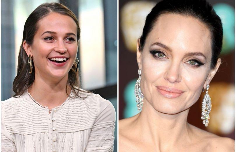 Анджелина Джоли и Алисия Викандер