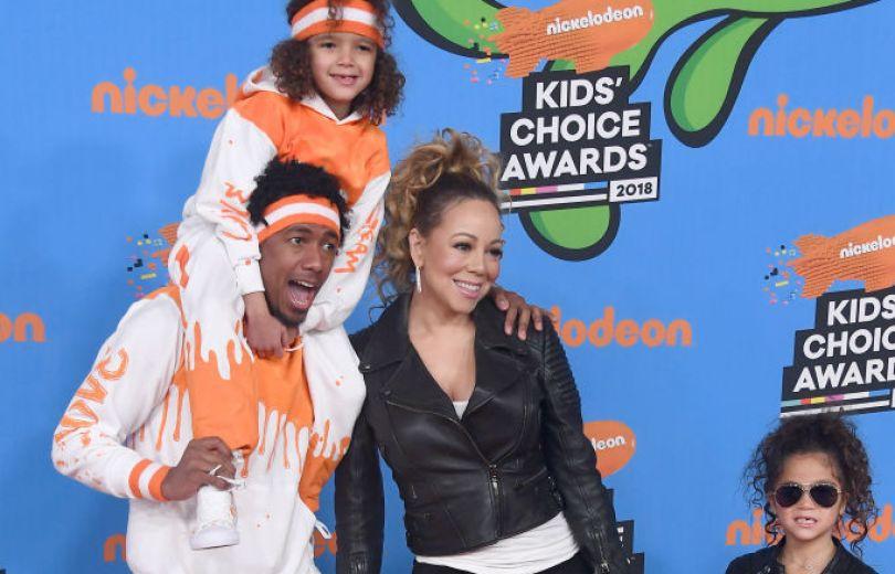 Мэрайя Кэри пришла наKids' Choice Awards сбывшим мужем идетьми