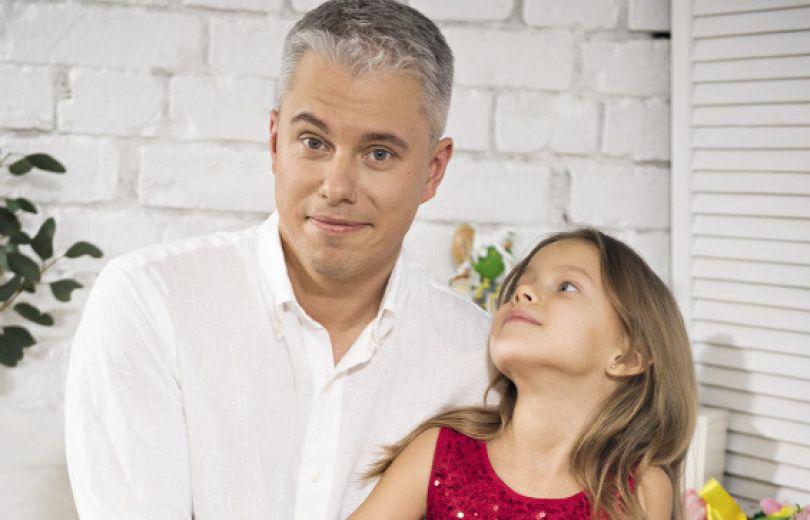 Андрей Доманский с дочерью